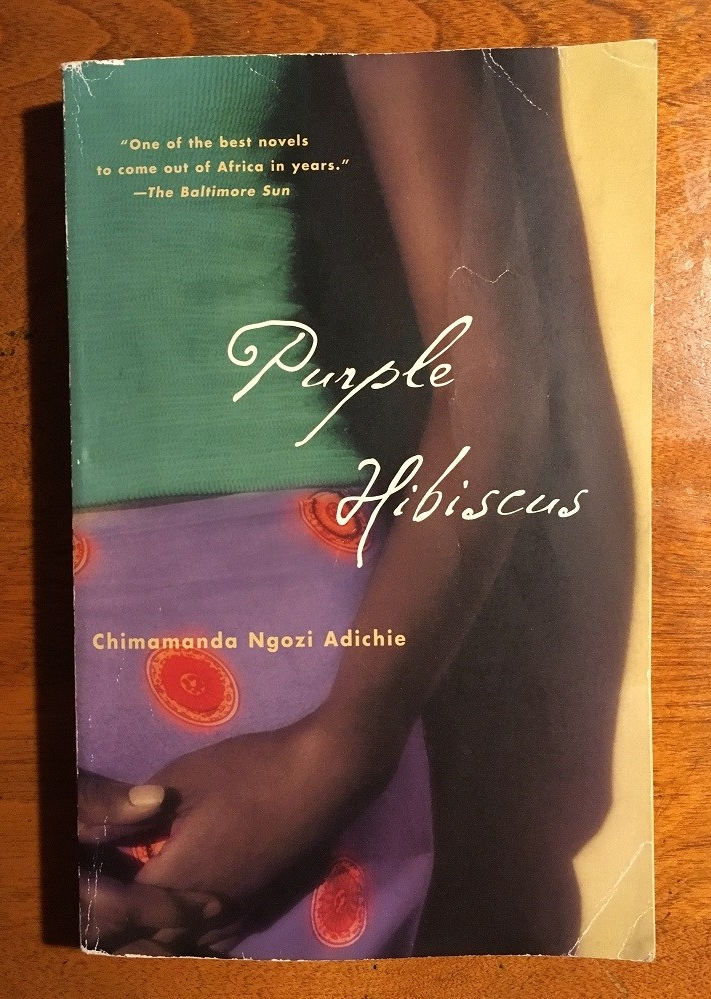 cover image of the arm, hand, and mid-section of a girl dressed in green, purple and orange
